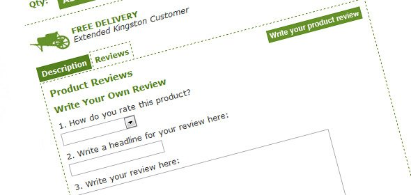 Many websites list peer reviews and awards, but get nothing in return.